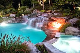 inground pools with waterfalls. Sophisticated Inground Pool Waterfalls For Pools Luxury Swimming Custom . With E