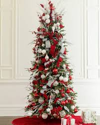 Red Artificial Christmas Tree  Home Decorating Interior Design Red Artificial Christmas Trees