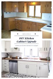 Diy Kitchen Cabinet Upgrade