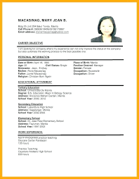 Work experience on a resume: Pin On Resume Format