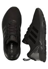 adidas shoes for girls black. adidas - zx flux adv j core black/core black girl shoes impericon.com uk for girls l