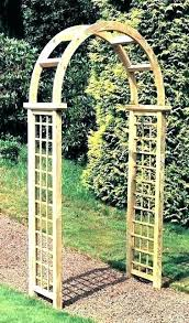wooden garden arches for the metal gazebo direct