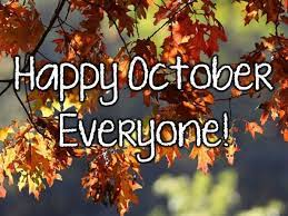 October images, greetings and pictures for Facebook | Happy october, Hello october images, October quotes