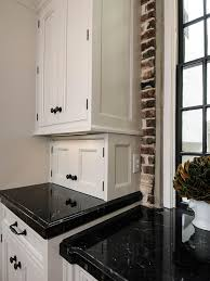 Black Marble Kitchen Countertops Kitchen Island Carts Black Marble Glosssy Countertops Stainless
