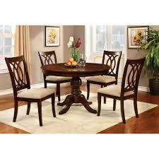 dazzling round dining table set 24 40 1701 ebony image