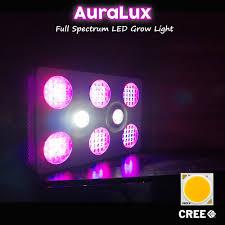 Best Amazon Led Grow Light Amazon Com Auralux 400w Led Grow Light Full Spectrum Cree