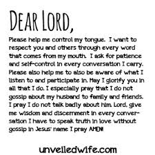 Christian Gossip Quotes Best Of Prayer Of The Day No More Gossip