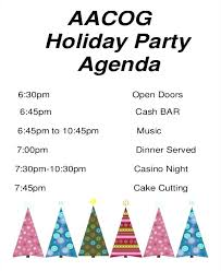 Party Agenda Sample Party Itinerary Template Company Holiday Agenda Bachelorette Free