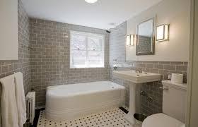 Subway Tile Bathroom Designs Custom Decoration