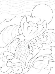 Mermaid Tail Coloring Pages Tails Coloring Pages Mermaid Tail