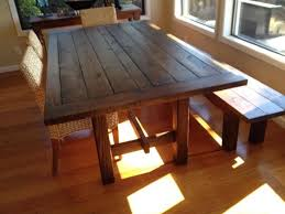 homemade kitchen table with regard to homemade kitchen table furniture diy dining