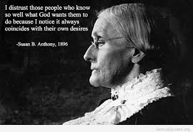 Susan B Anthony Quotes Adorable Susan B Anthony Quotes