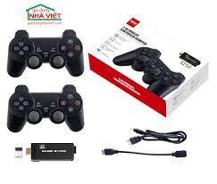 Máy chơi game tay cầm không dây giả lập Sega GBA FC PS1 có lưu game PS3000  64GB - Gia Dụng Nhà Việt