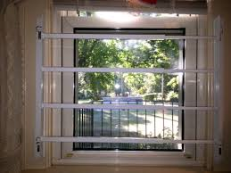 simple window security bars interior