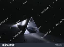 Refraction White Light Glass Prism Stock Photo Edit Now