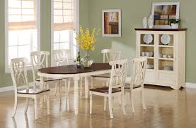 winsome design off white dining table chair distressed set antique chairs full size of monarch and walnut veneer solid wood