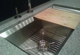 Sink With Cutting Board Kitchen Sink With Sliding Cutting Board A Carlocksmithcincinnati