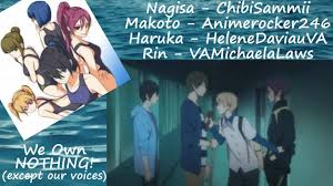 free iwatobi swim club genderbend. Fine Genderbend Free GenderswapThe Reunion  Genderbend English Fandub YouTube And Free Iwatobi Swim Club D