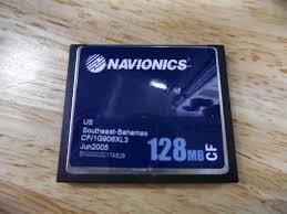 Navionics Gold Chart Cartridge Navionics Gold Chart Card Us Southeast Bahamas Cf 1g906xl3 128mb