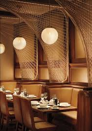 restaurant bar lighting. forty four restaurant at the royalton hotel in nyc designed by roman and williams note place lights cool wire things to create shadows bar lighting h