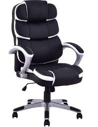 U Giantex Ergonomic PU Leather High Back Executive Chair