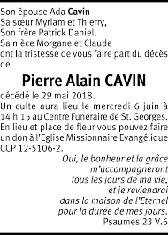 Pierre Alain CAVIN