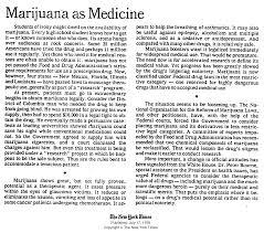 evolving on marijuana the new york times marijuana as medicine acirc