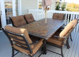 slate top patio table costco ideas side tables round glass patio table large patio modern outdoor