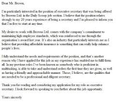 Example Of Strong Cover Letters Here Is An Example Of A Good Cover Letter Example Resume