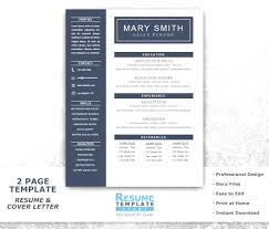 Free One Page Resume Template Print One Page Resume Template Free Word Resume Template Word Free 4