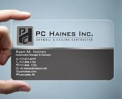 21 Business Card Designs Construction Business Card Design Project