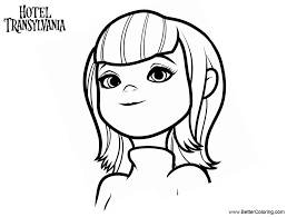 Hotel Transylvania Characters Coloring Pages