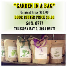garden in a bag. The Garden In A Bag Would Be Great Shower Favor, Sweet Prize For Baby Games, Nice House Warming Gift, Gift Friends And Even Gifts -