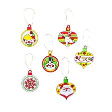 Fun easy rudolph foam ornaments