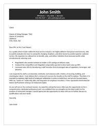Restaurant Cover Letter Restaurant Cover Letters Restaurant Manager Cover Letter 7