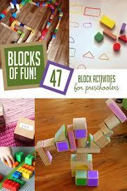 blocks of fun 47 block activities for preschoolers