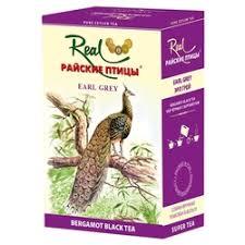 «<b>Real</b> Райские птицы листовой <b>черный чай</b> с бергамотом Эрл ...
