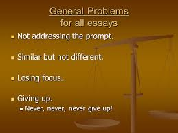 compare and contrast essay ppt never never give up general problems for all essays