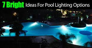 swimming pool lighting options. Swimming Pool Lighting Options