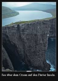 See über Dem Ozean Auf Den Färöer Inseln Lustige Bilder
