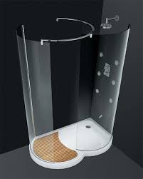 walk in shower by cesana eclisse curved enclosures with