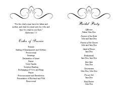 wedding reception program templates free download wedding program template 41 free word pdf psd documents