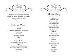 Wedding Program Template 41 Free Word Pdf Psd Documents