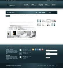 Modern Website Templates Fascinating Karma Website Template Modern Website Templates Karma Clean And