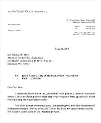 Settlement Demand Letter