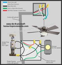 option 5 ceiling fan with remote installation