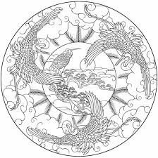 3f8bed192526cd0dd1b24fddc31ddc5f bird mandala to color from nature mandalas coloring book line on creative coloring birds