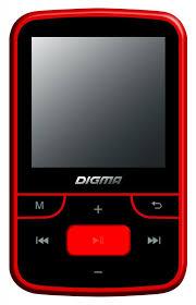 Медиаплеер <b>Digma T3 8Gb</b> (<b>черно-красный</b>)