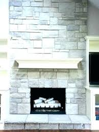refacing fireplace with stone cost to reface fireplace s cost to reface brick fireplace with stone