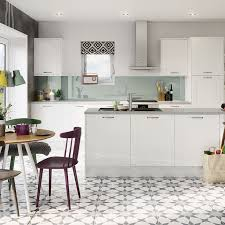 White Gloss Kitchen Simply Magnet Kitchen Ranges Magnet